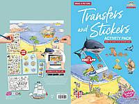 Набір перекладних наклейок Scribble Down з онлайн додатком Острів піратських скарбів (SD/20)