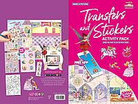 Набір перекладних наклейок Scribble Down з онлайн додатком Казка про принцесу (SD/21)