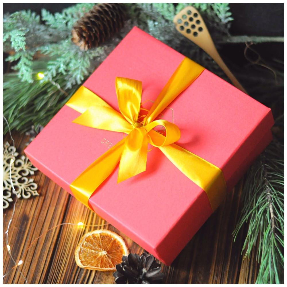 """Новогодний подарок с крем-медом """"Чайная беседа"""""""