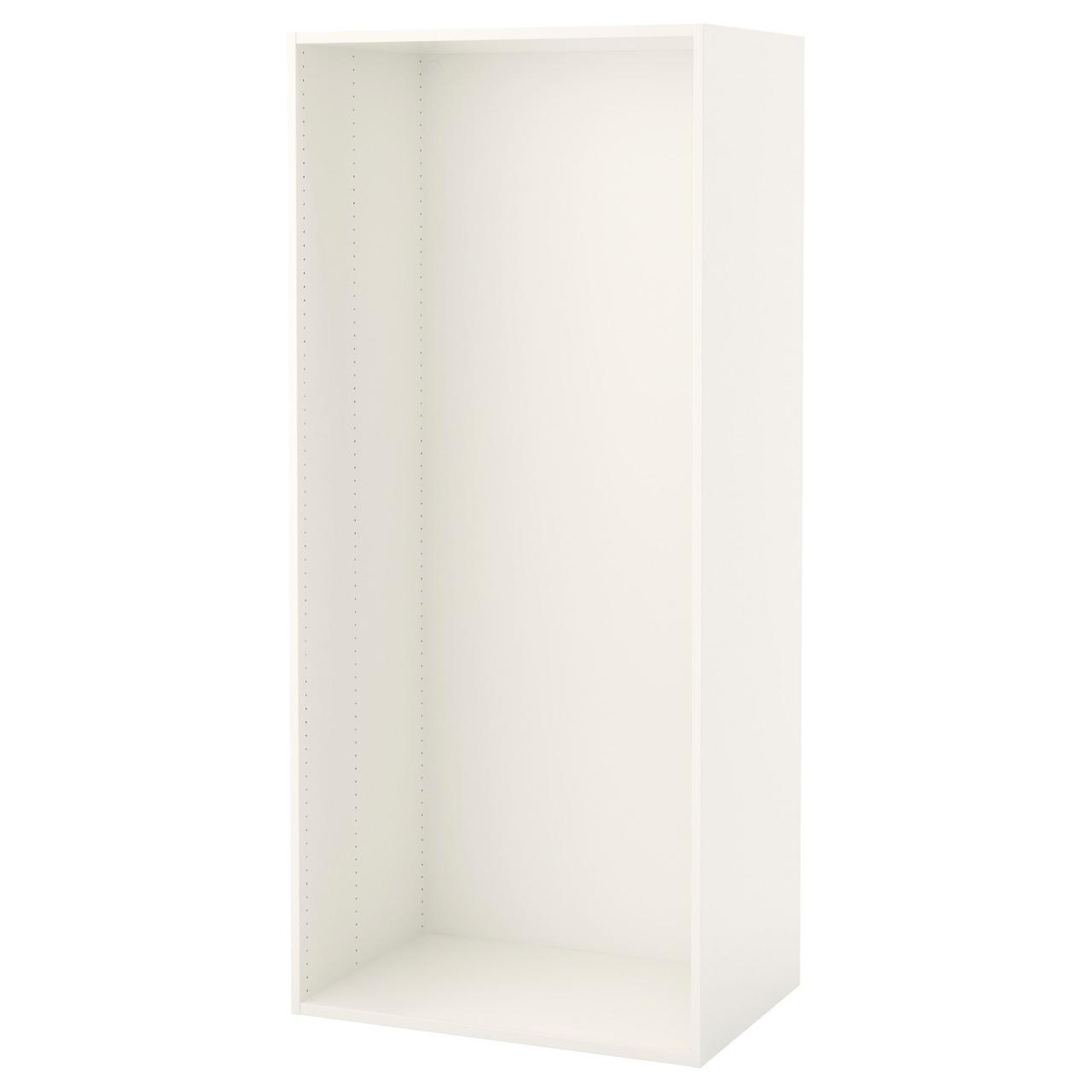Каркас IKEA PLATSA 80x55x180 см белый 703.309.45
