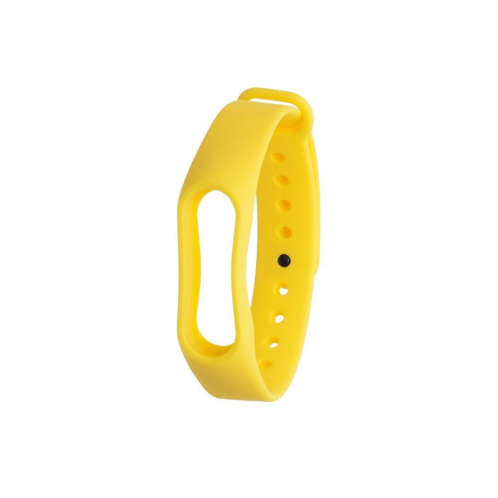 Ремешок для фитнес - трекера Xiaomi Mi Band 2 Желтый