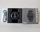 Смарт-годинник Garmin Fenix 5 Slate Gray with Black Band з чорним ремінцем, фото 7