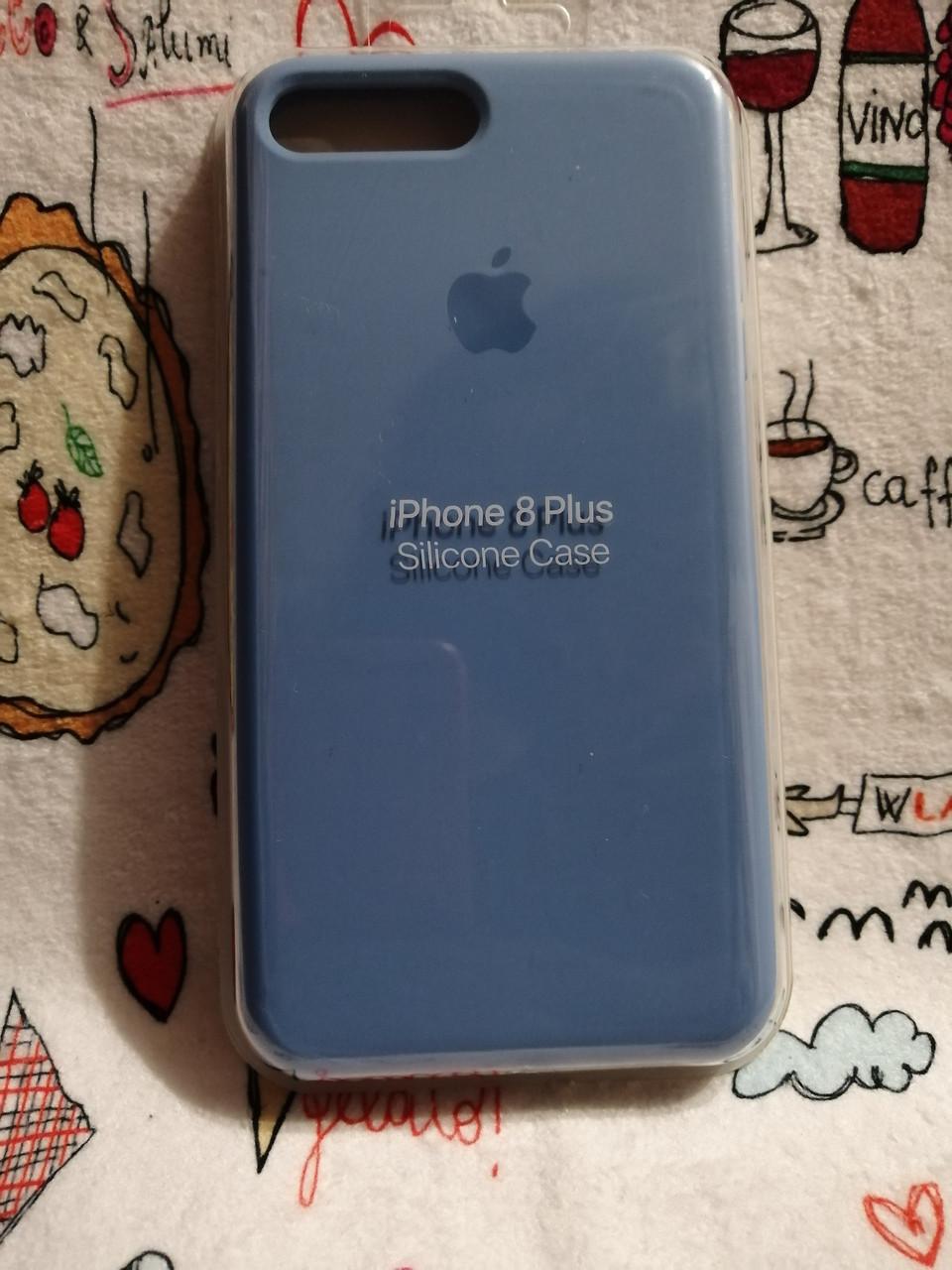 Силиконовый чехол для Айфон 7 Plus / 8 Plus  Silicon Case Iphone 7+ / 8+ в защищенном боксе - Color 17