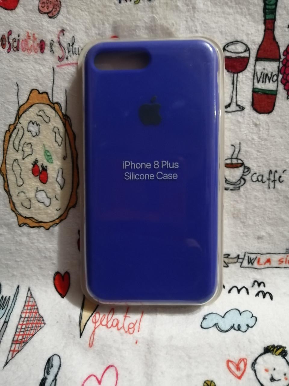 Силиконовый чехол для Айфон 7 Plus / 8 Plus  Silicon Case Iphone 7+ / 8+ в защищенном боксе - Color 19