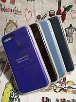 Силиконовый чехол для Айфон 7 Plus / 8 Plus  Silicon Case Iphone 7+ / 8+ в защищенном боксе - Color 19, фото 3