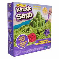 Набір кінетичного піску Kinetic Sand Замок з піску зелений 454 г (71402G)