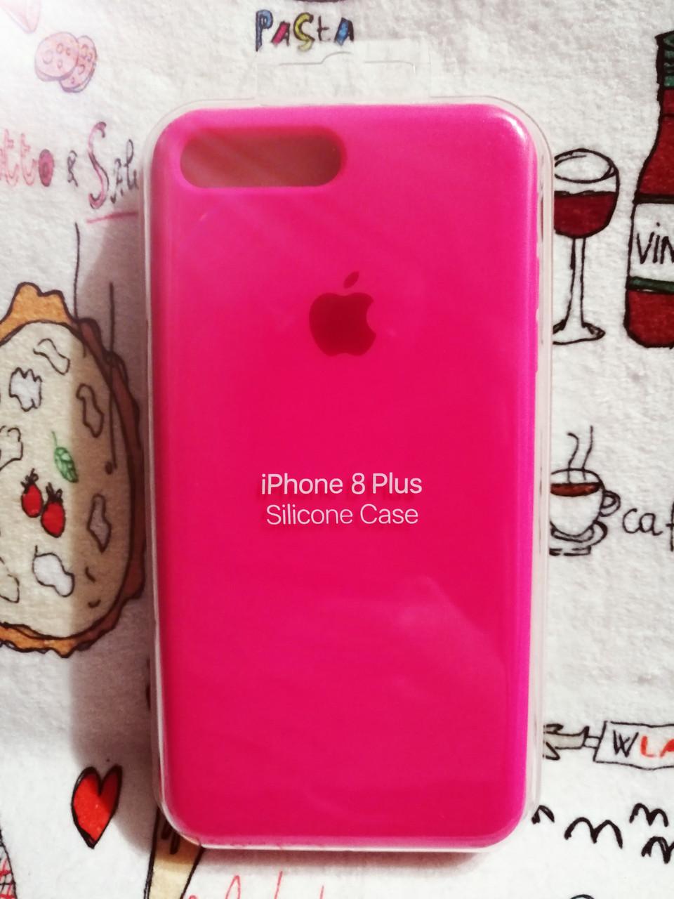 Силиконовый чехол для Айфон 7 Plus / 8 Plus  Silicon Case Iphone 7+ / 8+ в защищенном боксе - Color 21