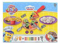 Набір креативної творчості Danko Toys Тісто для ліпки Master Do Шеф кухар Піцца  (ДТ-ТЛ-02-69)