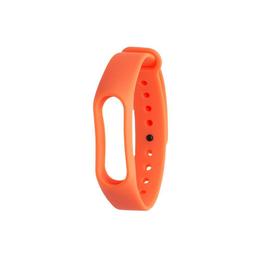 Ремешок для фитнес - трекера Xiaomi Mi Band 2 Оранжевый