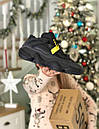 Мужские черные кроссовки Adidas Boost на меху, фото 8