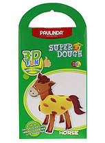 Маса для ліплення Paulinda Super Dough 3D Fun Кінь (PL-081289)
