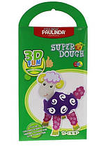 Маса для ліплення Paulinda Super Dough 3D Fun Вівця (PL-081288)