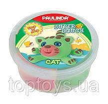 Маса для ліплення Paulinda Super dough Кіт (PL-081394-12)