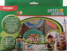Маса для ліплення Paulinda Super Dough буклет Крок за кроком Тварини (PL-081186)