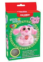 Маса для ліплення Paulinda Super Dough Circle Baby Собака заводний механізм рожева (PL-081177-5)