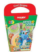 Маса для ліплення Paulinda Super Dough Cool Dragon Дракон блакитний (PL-081378-14)