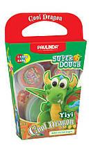 Маса для ліплення Paulinda Super Dough Cool Dragon Дракон зелений (PL-081378-13)