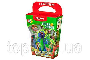 Маса для ліплення Paulinda Super Dough Cool Dragon Дракон синій (PL-081378-16)