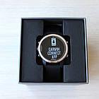 Смарт-годинник Garmin Fenix 5S Silver with Black Band з чорним ремінцем, фото 6