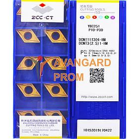 Пластина ZCC-CT DCMT 11T304-HM YBC251