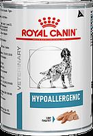 Royal Canin Hypoallergenic 400 г для собак при пищевой аллергии Паштет