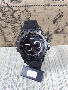 Чоловічі годинники аналог G-Shock чорні з підсвічуванням