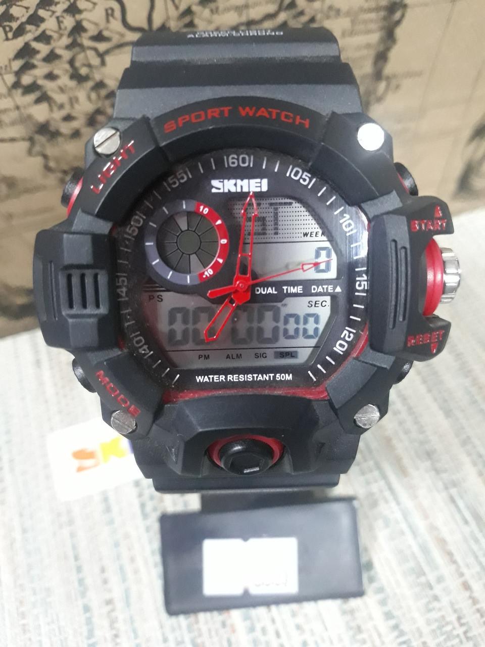 Часы спортивные мужские Sknei с секундомером