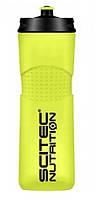Бутылка для воды Scitec Nutrition Bike bottle 650 TR Yellow scitec