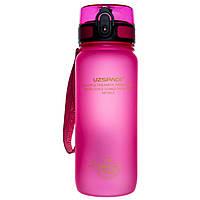 Бутылка для воды UZspace Pink (650 мл) - Розовая
