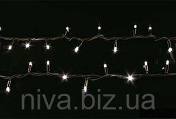 Гірлянда Стрінг вулична LED + перехідник 20 м Білий