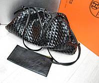 Женская кожаная сумка мешочек Bottega Veneta Боттега Венета в расцветках