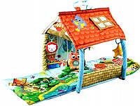Детский развивающий игровой коврик Lionelo Agnes (розвиваючий ігровий килимок для дітей), фото 1