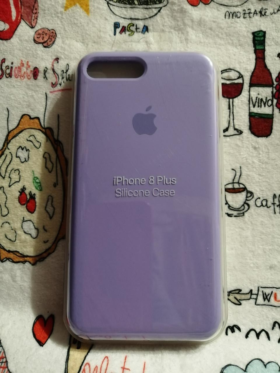 Силиконовый чехол для Айфон 7 Plus / 8 Plus  Silicon Case Iphone 7+ / 8+ в защищенном боксе - Color 25