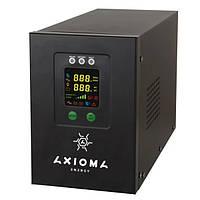 Гибридный ИБП+стабилизатор 800ВА/500Вт/12В + MPPT контроллер 20А 12В, AXEN.IS-800 AXIOMA energy