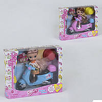 Кукла с мопедом 65020 в коробке