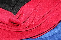 Червоний колір класичний. Ангора класична з люрексовою ниткою, не контрастна, легке сяйво.