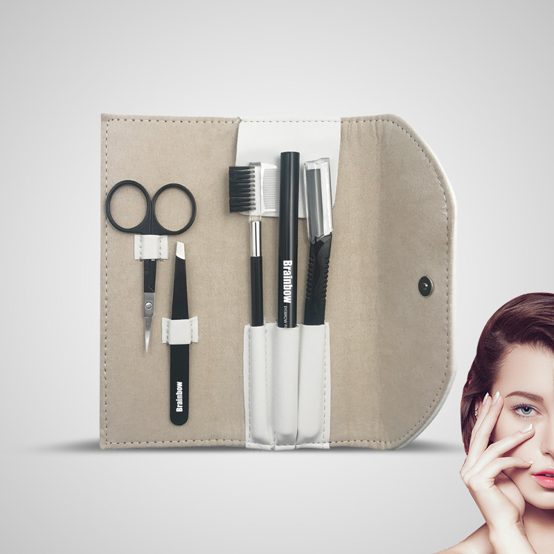 Brainbow набір необхідних інструментів для гарного макіяжу очей чудовий подарунок для дівчини Dark Coffe
