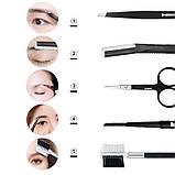 Brainbow набір необхідних інструментів для гарного макіяжу очей чудовий подарунок для дівчини Dark Coffe, фото 4
