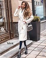Женское теплое пальто,длинное пальто шуба