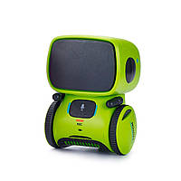 Интерактивный робот с голосовым управлением AT-Robot зеленый (AT001-02), фото 1