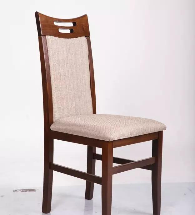 Стул кухонный деревянный Юля Микс мебель, цвет темный орех