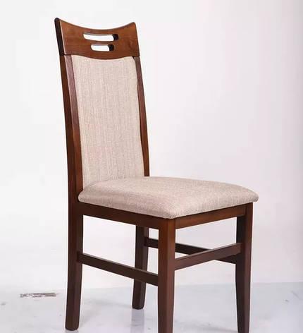 Стул кухонный деревянный Юля Микс мебель, цвет темный орех, фото 2