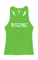 Майка Scitec Nutrition Vest Girl Racerback Green Scitec