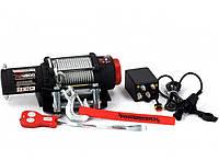 ✅Лебедка электрическая автомобильная POWERWINCH PW4500 12V/2,040 т