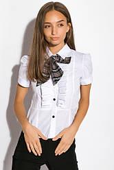 Блуза женская подросток 120P029 (Белый)