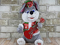Интерактивная мягкая игрушка Крыса с гитарой ( Мышка поет )