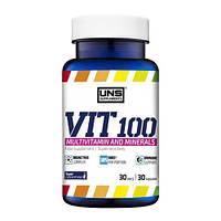 Витамины UNS VIT 100 (30 капсул)