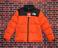 Пуховик The North Face Nuptse 700 Orange