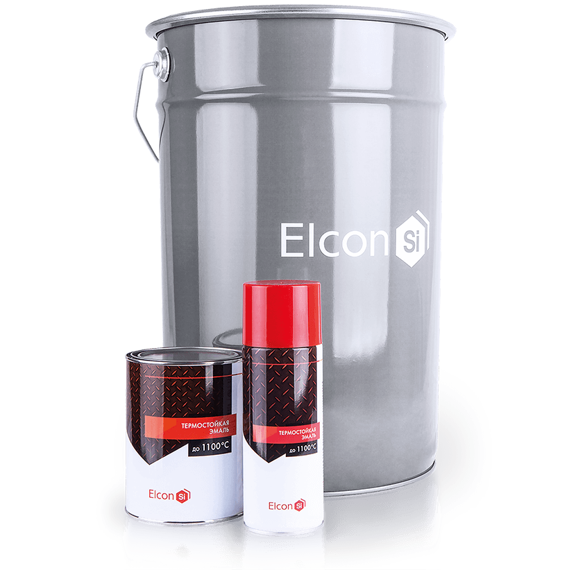 Термостійка емаль Elcon ( Бежевий) +400°С