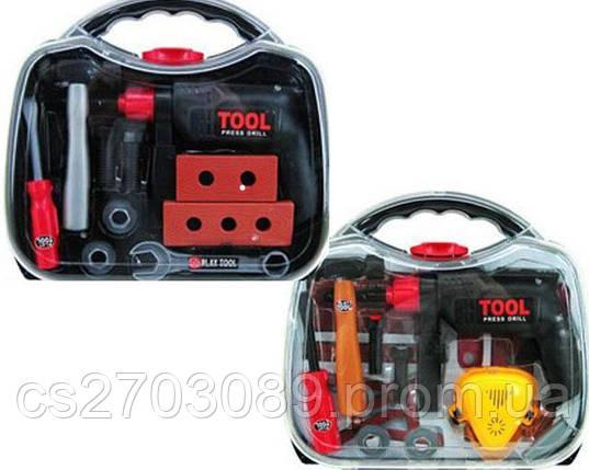 Набор инструментов Tegole з 24 ел. в чемодане, фото 2